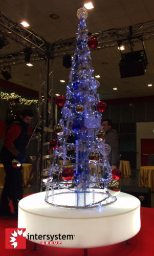 Albero di Natale - Evento Fiera di Roma