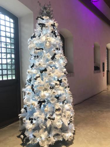 Albero di Natale installato presso Evento APLOAD