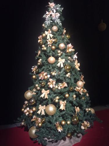 Albero di Natale per fiera Commercity