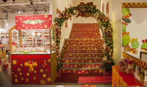 Allestimenti decorativi per interni per Eataly - Natale 2017
